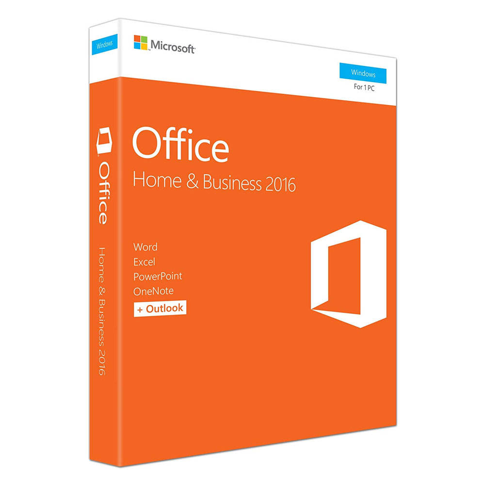 Office 2016 Home & Business Mídia