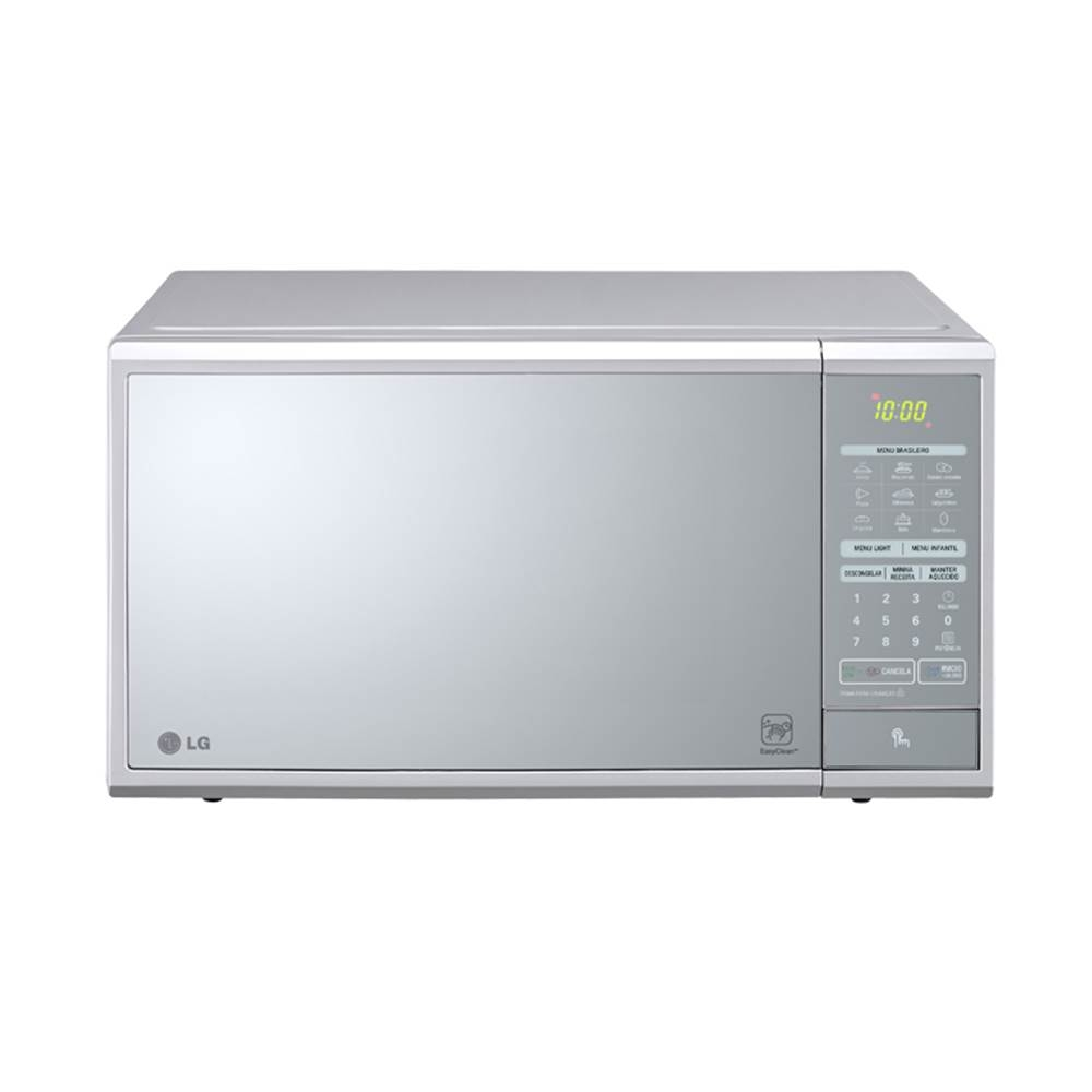 072807a2d Forno de Microondas LG EasyClean™ 30L Prata Espelhado MS3059L (Código  471437)